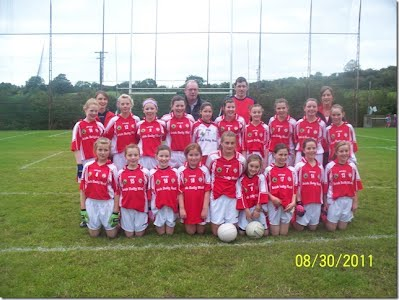 U13 Ladies League Champions